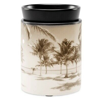 Scentsy Sunny Beach Full Sized Monochrome Wax Warmer BNIB