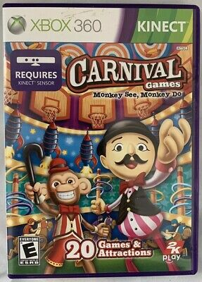 Pre-Owned Carnival Games: Monkey See, Monkey Do (Microsoft Xbox 360, 2011)