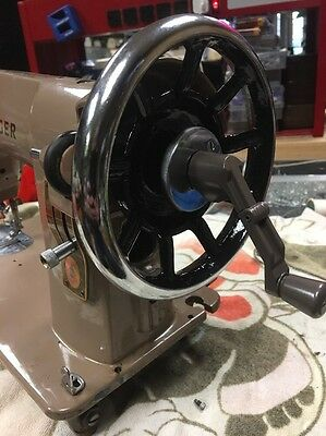 SINGER 15 sewing machine Model 15- And Model 66 Hand Crank