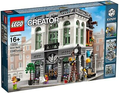 Retired set Factory Sealed BNIB Mint Condition Lego Creator 10251 Brick Bank