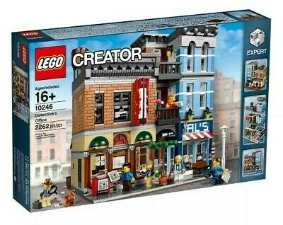 Retired set Factory Sealed BNIB Mint Lego Creator 10246 Detective's Office