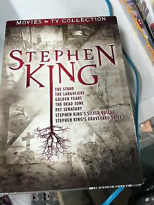 Stephen King Movies & TV Collection New DVD Boxed Set Langoliers The Stand More