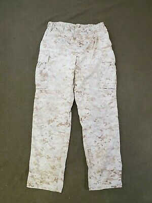 USMC Desert Digital MARPAT MCCUU Pants size Medium Regular