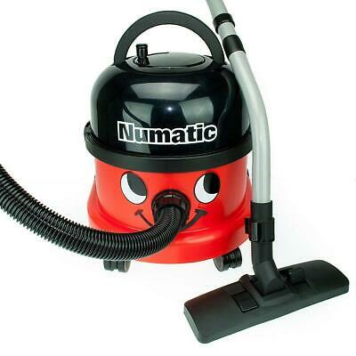 Numatic NRV200 Red 110V Commercial Bagged Cylinder Vacuum Cleaner and Kit - NEW