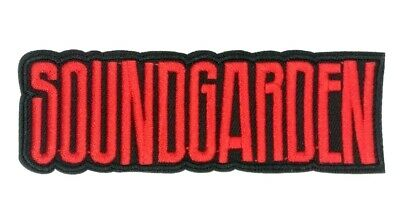 us seller Soundgarden Logo Rock Band Patch Iron or Sew On Embroidered 1595