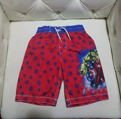 25593b1989 NWT GAP MARVEL Avengers Swim Trunks Board Shorts Hulk Iron Man ...