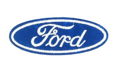 us seller Ford symbol car company Patch Iron or Sew On Embroidered 1602
