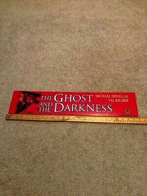 1996 Ghost and the Darkness 5 x 25 Large Movie Theater Mylar Single-sided