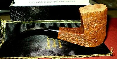 Charatan's Make Estate Smoking Pipe HandMade in London Freehand Relief Unsmoked