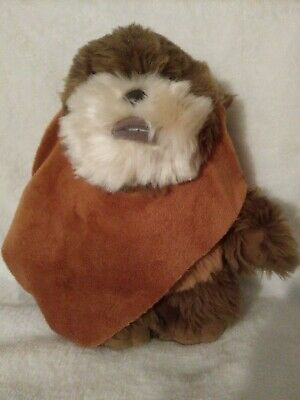 Disney Star Wars Wicket Ewok Plush Stuffed animal 8'' Disney Parks