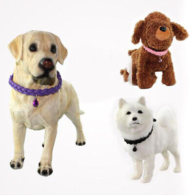 Dog Cat Collar Pet Puppy Kitten Adjustable Harness Neck Strap with Bell JJ