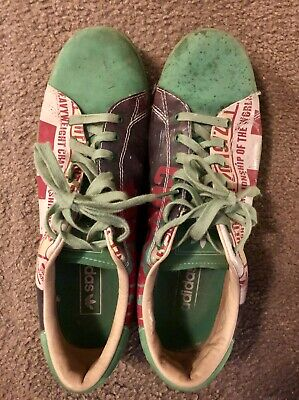 Details about 2007 Green Adidas Muhammad Ali Classic II Confidence Sz 8 Sneakers NEVER WORN