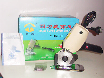 Electric motor fabric cutter Round Knife cutting disc Machine Sewing Dressmaker