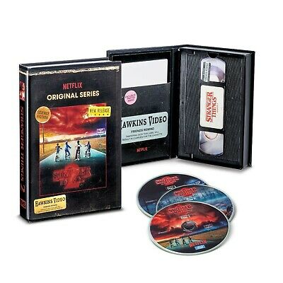Stranger Things Season 2  (Blu-Ray + DVD) Exclusive VHS Retro Packaging Colle...
