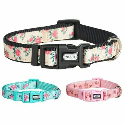 XS/S/M/L Reflective Dog Collar Safe Personalized Nylon Collars for Dogs Puppy