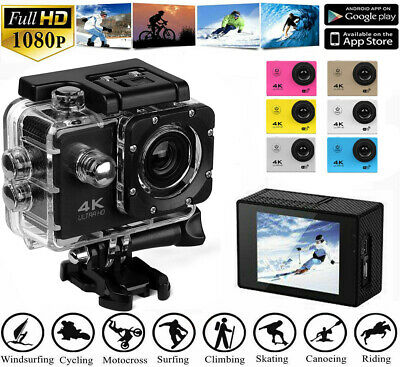 SJ9000 HD 1080P Ultra Sport Action Camera DVR Helmet Cam Waterproof Camcorder 4K