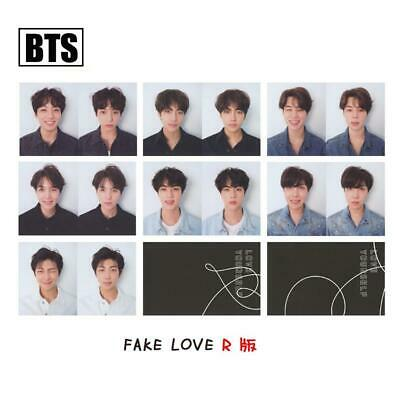 Kpop BTS FAKE LOVE YOURSELF ANSWER Album Photo Cards R Version Photocard 7pcs