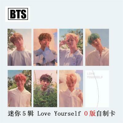 Kpop BTS LOVE YOURSELF Album Photo Cards O Version Collective Photocard 7pcs