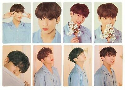 Kpop BTS World Tour Photo Card JUNGKOOK Love Yourself Photocard Cards Poster