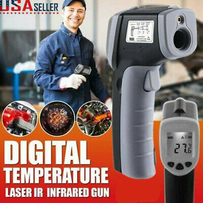 Temperature Gun Non-contact LCD Digital Laser Infrared IR Point Thermometer US