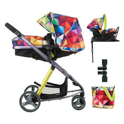Cosatto Woop Pushchair Stroller Pram Travel System - Spectroluxe footmuff