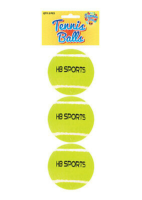 Tennis Balls Good Quality Sports Outdoor Fun Cricket Beach Dog 3 6 12 18 NEW UK