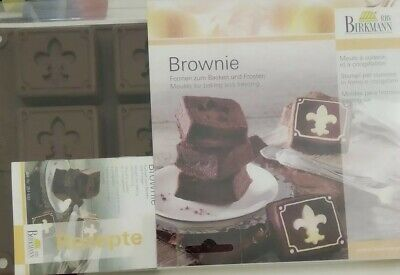 Birkmann stampo in silicone 2pz Brownie