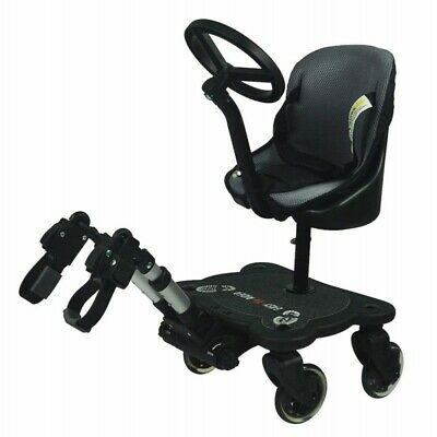 4 Wheel Ride On Board with Seat Pad Buggy Board