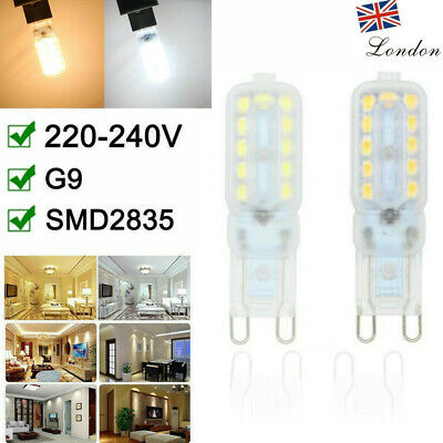 2-10pcs G9 8W 22 LED Bulbs Dimmable Capsule Light Replace AC220-240V CE RoHS FCC