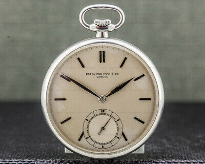 Patek Philippe & Cie Vintage Pocket Watch Stainless Steel EXCELLENT CONDITION