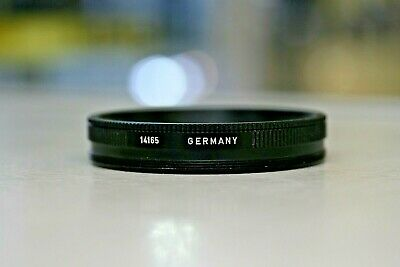 Leica 14165 Series VIII to E72 filter adapter with Retention Ring