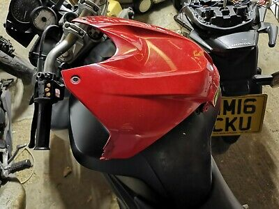 BMW S1000 RR S1000R 2014 2016 Red genuine  Tank fairing cover Cowl