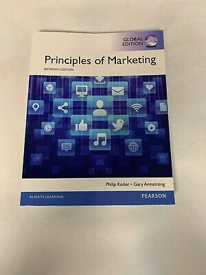 Principles of Marketing 16edition By Philip Kotler and Gary Armstrong
