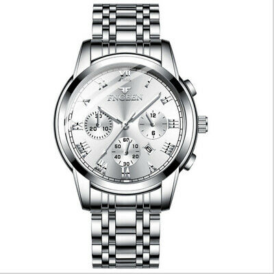 New Winner Luxury Stainless Steel Automatic Mechanical Business Mens Wrist Watch