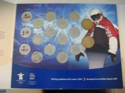 Vancouver 2010 Circulated Coin Set Royal Canadian Mint