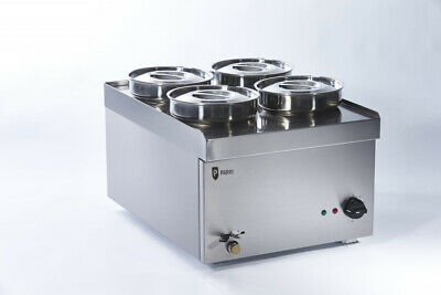 Parry NPWB4 4 Pot Wet Well Bain Marie (Boxed New)