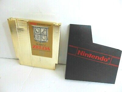The Legend of Zelda (Nintendo Entertainment System, 1987) NES Tested Works Well