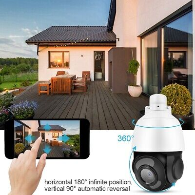 2MP 30X Zoom HD 1080P all'aperto PTZ IP Speed Dome Camera infrarossi notturna