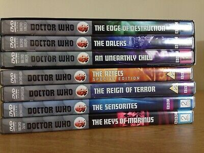 Doctor Who Season 1 DVD Reign of Terror, Unearthly Child, Aztecs SPECIAL ED