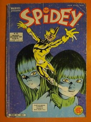 SPIDEY Tome 83. Photonik. Les enfants de l'apocalypse. éditions Lug Marvel