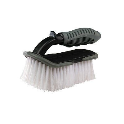Silverline Soft Wash Brush with Curved front edge 150mm (741650)