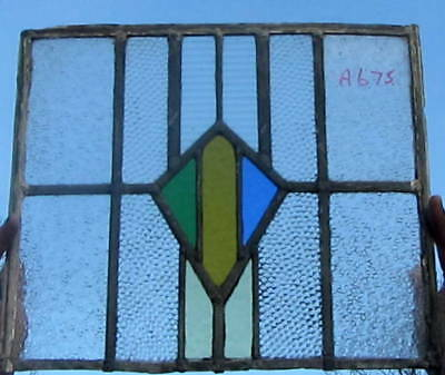 A675   Ca 1930s       Stained glass