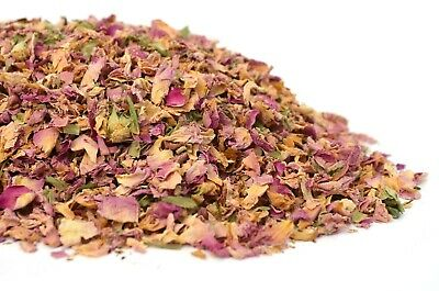 Damascus Rose Petals, Dried Flowers, Herbal Tea, Cake Decor, Coctail Garnish