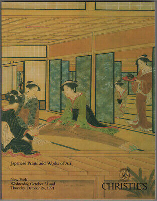 Christie's: Japanese Prints and Works of Art. October 23 and 24, 1991 Sale 7340