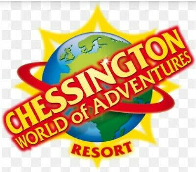 2 X Chessington World of Adventure tickets for use on Wednesday 3rd July