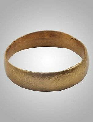 Authentic Ancient Viking  wedding Ring, medieval ring, Size 9 (19.2mm)(Brr1013)