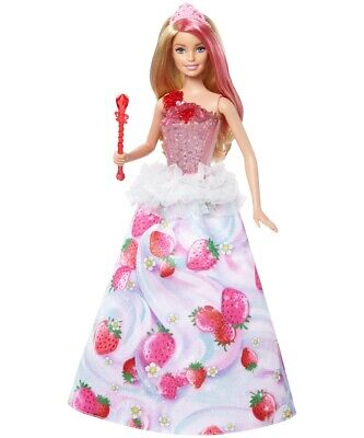 Mattel Barbie Dreamtopia Candy Light & Music Princess Barbie Doll from 3