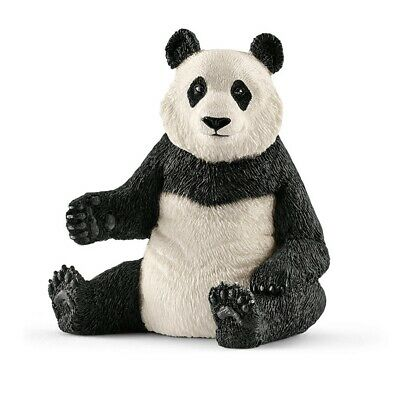 Schleich Figure Giant Panda Female Sitting | Wild Life Animal | Game