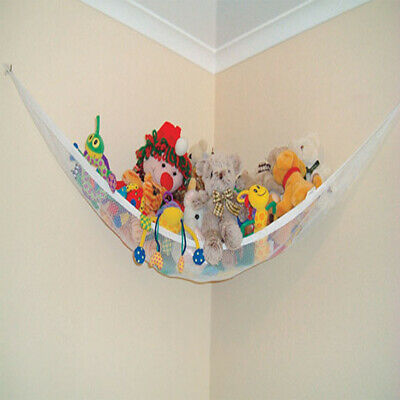 Large Toy Soft Teddy Mesh Baby Childs Hammock Tidy Storage Nursery Bedroom