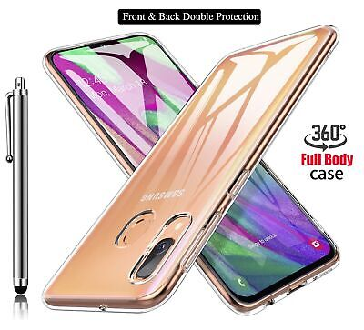 Case For Samsung Galaxy A20e Full Body Cover Tough Slim Clear TPU Gel Phone Case